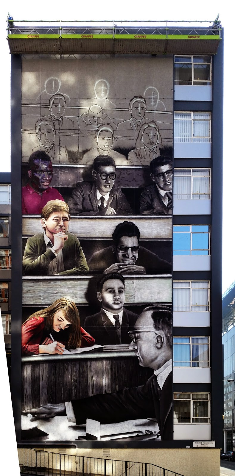 University of Strathclyde, Graham Building Mural, Glasgow, Rogue One