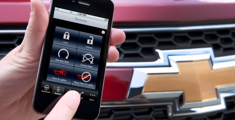 OnStar RemoteLink App Sees Record Number of Remote Starts