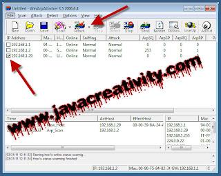 WinArpAttacker - Tool Hacking Untuk Memutus Koneksi Lawan