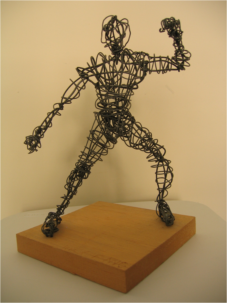 Cmu 102 3 d design jake allee project 1 for How to make a wire sculpture