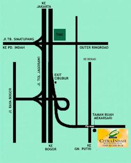 Lokasi Citra Indah Timur Jakarta