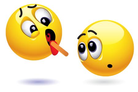 Emoticon visiting doctor