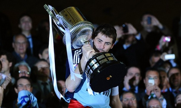real madrid copa del rey 2011 photos. and the Madrid captain was