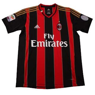 Leaked Jersey Grade Ori AC Milan Home season 13/14