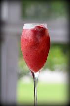 Frozen Strawberry Bellini