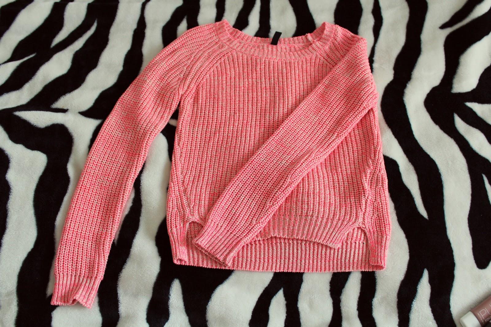 новый персиковый свитер