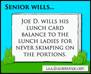 Senior Wills and Six Other Writing Prompts for the End-of-the-Year