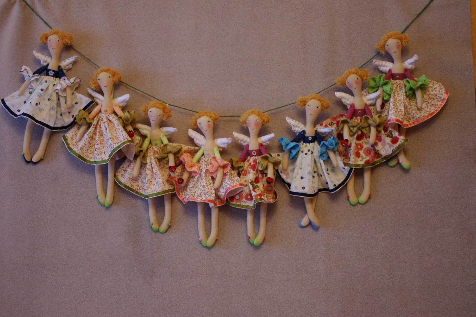 Мастер-класс по куклам из текстиля