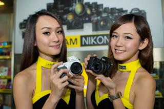 New Nikon digital camera, digital SLR camera