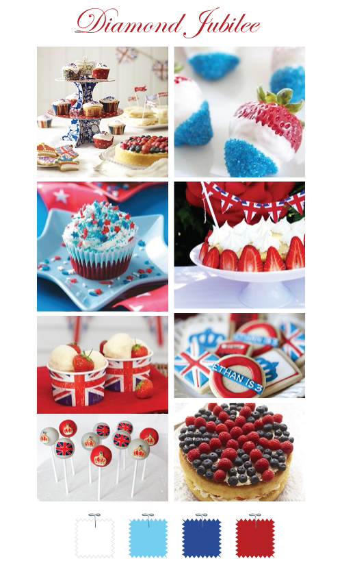 British Diamond Jubilee sweet treats