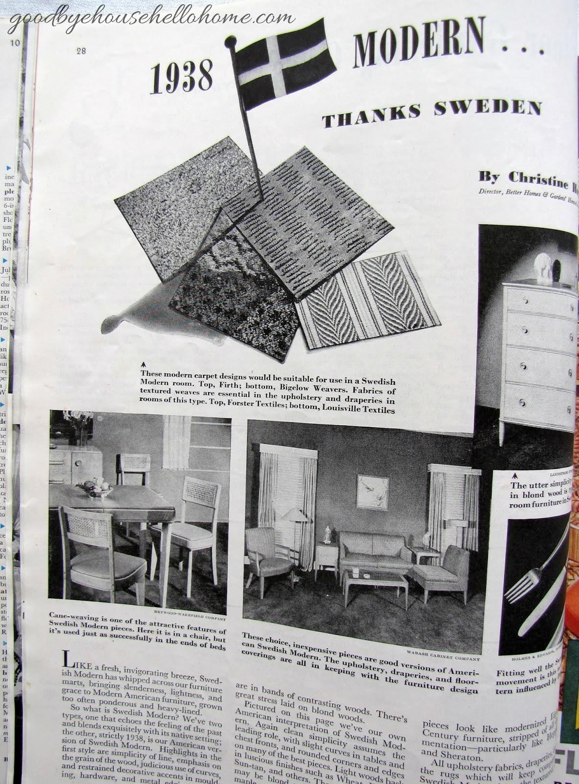 Goodbye House Hello Home Blog November 1938 Better