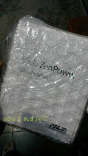 Unit power bank ASUS ZenPower credit card size 1050 mAh- MizTia