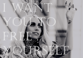 lady gaga quotation about yourself