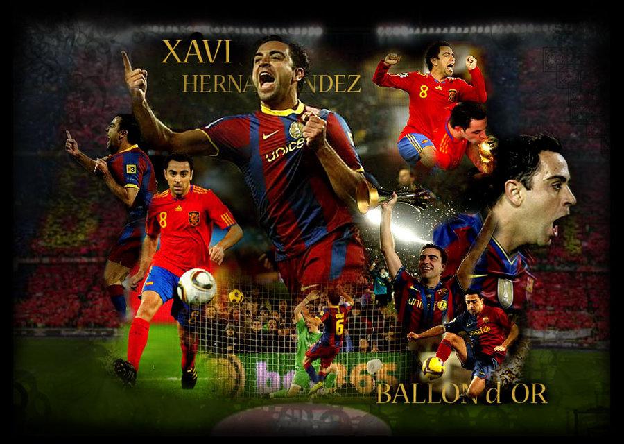 Xavi Hernandez Football Wallpapers | Bacelona Fc Wallpaper