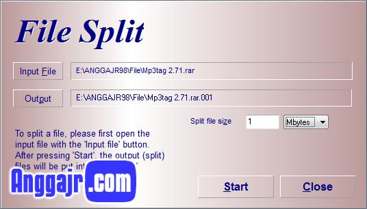 Cara Memecah File Berukuran Besar Dengan HJSplit, Cara Membagi File Menjadi Beberapa Part, Cara Memecah File Menjadi Beberapa Bagian, Download HJSplit 3.0 Final, Download HJSplit 3.0 Full Version, Download HJSplit Portable