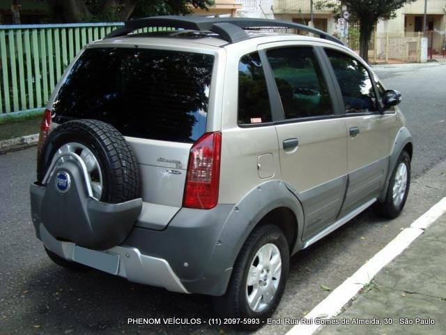 Fiat idea adventure 2007 phenom veiculos for Fiat idea 2007 precio