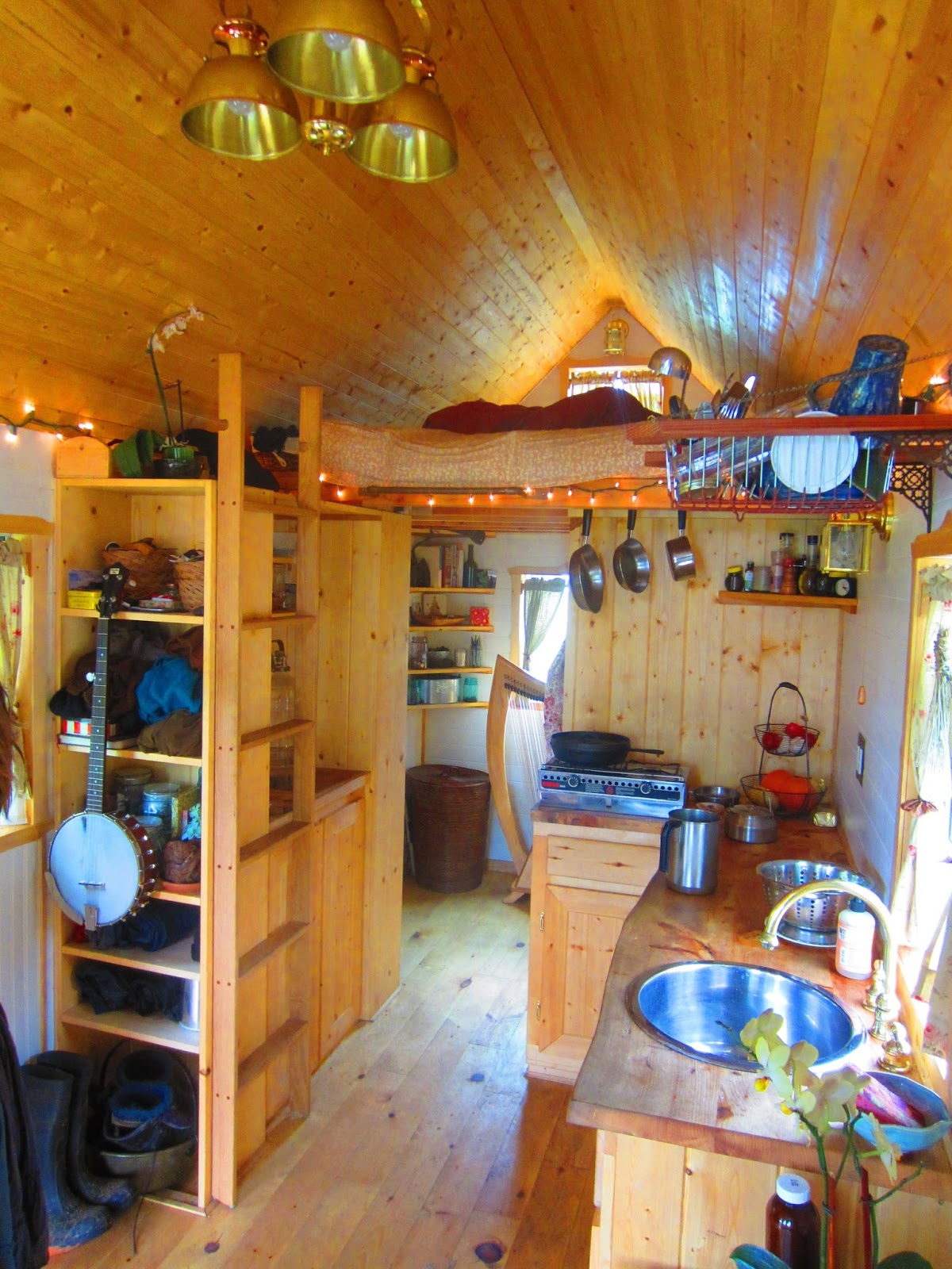 hangin at ella jenkins tiny house in california a photo tour - Tiny Houses California