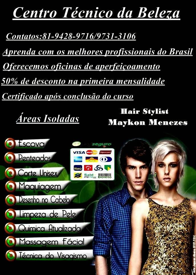 Centro Técnico da Beleza:Cursos com os melhores profissionais do Brasil
