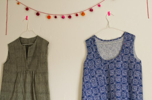Made By Katrina Wiksten Tova Tank And The Cool Sewing Club