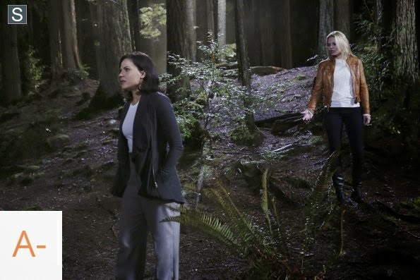 "Once Upon a Time - Breaking Glass - Review: ""QueenSwan at its best"""
