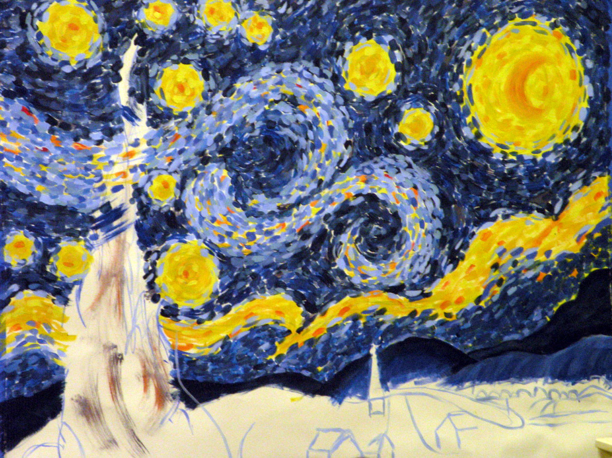 The Starry Night Is An Oil On Canvas By The Dutch Postimpressionist Painter Vincent Van Gogh Painted In June 1889 It Depicts The View From The Eastfacing Window