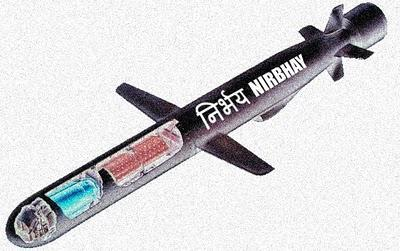 Indian Nirbhay Cruise Missile