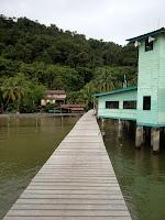 Kampong Pudak in Kota Batu Brunei