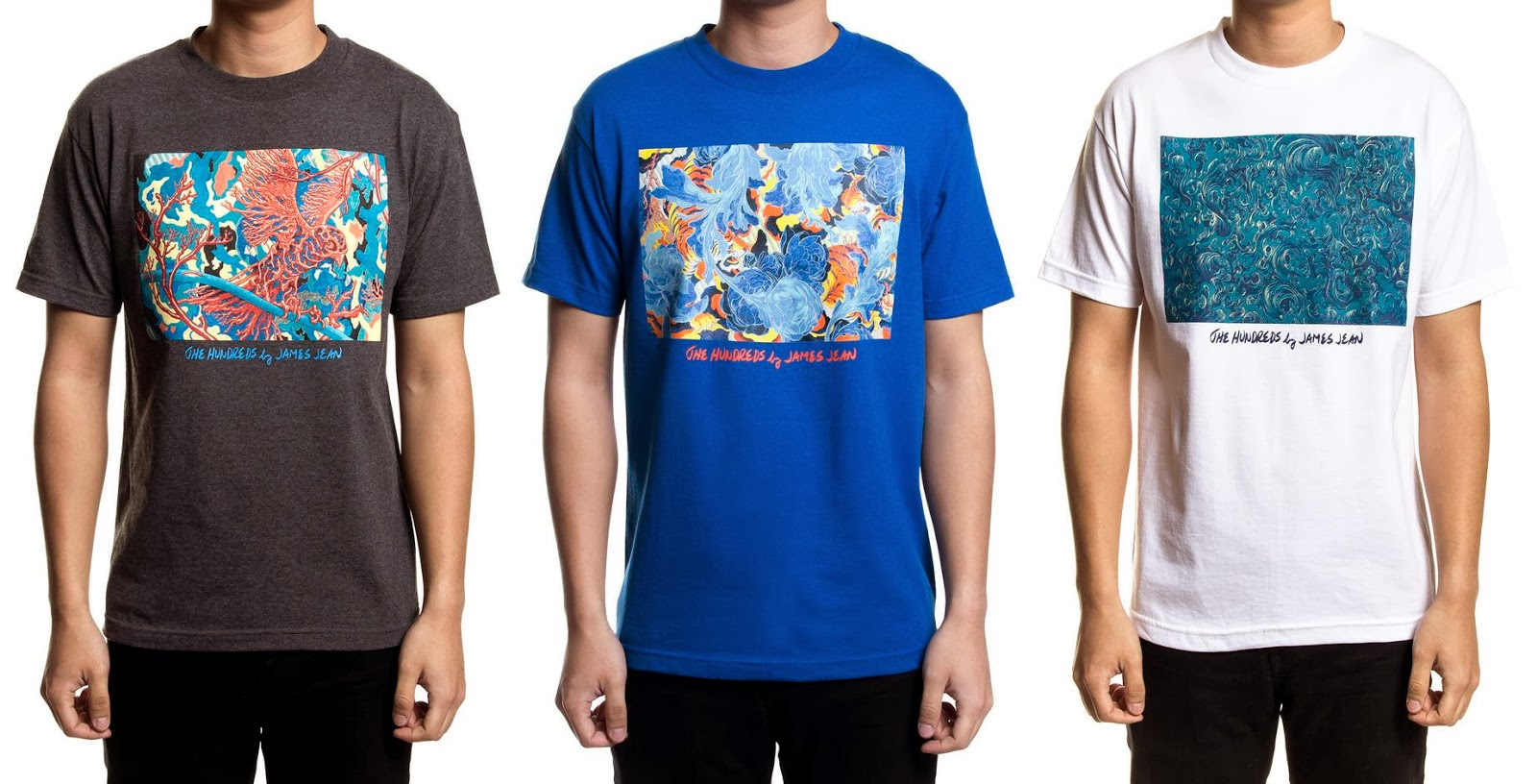 buy online 578a9 5cf94 The Hundreds by James Jean T-Shirt Collection