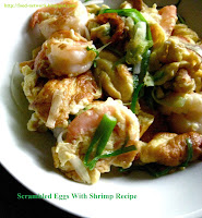 Scrambled Eggs With Shrimp Recipe