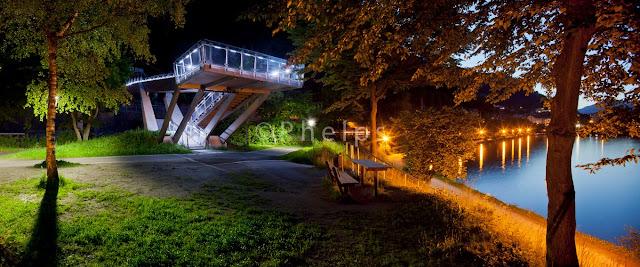 Heldenhainbrucke Zell am See - Arch. Ernst Hasenauer - Foto Andrew Phelps