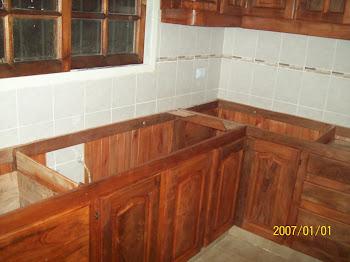 Algarrobo la deolinda algarrobo la deolinda mueble de cocina x mtro lineal 1500 - Mueble cocina esquinero ...