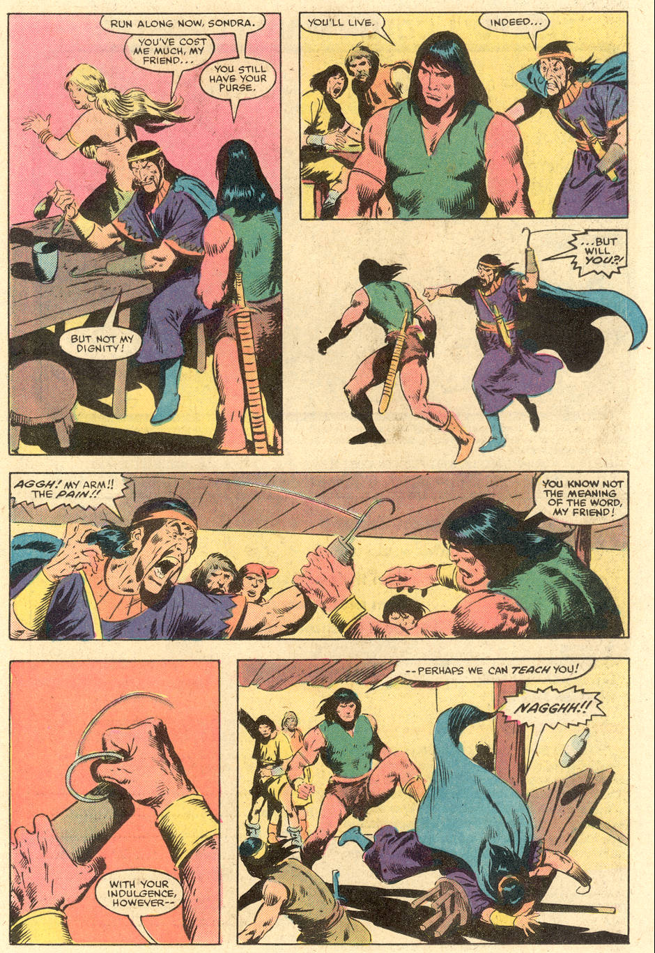 Conan the Barbarian (1970) Issue #140 #152 - English 10