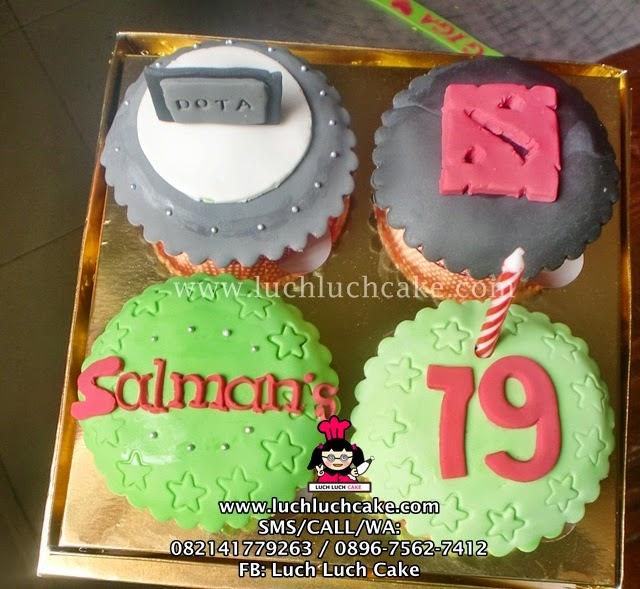 Cupcake DOTA Daerah Surabaya - Sidoarjo