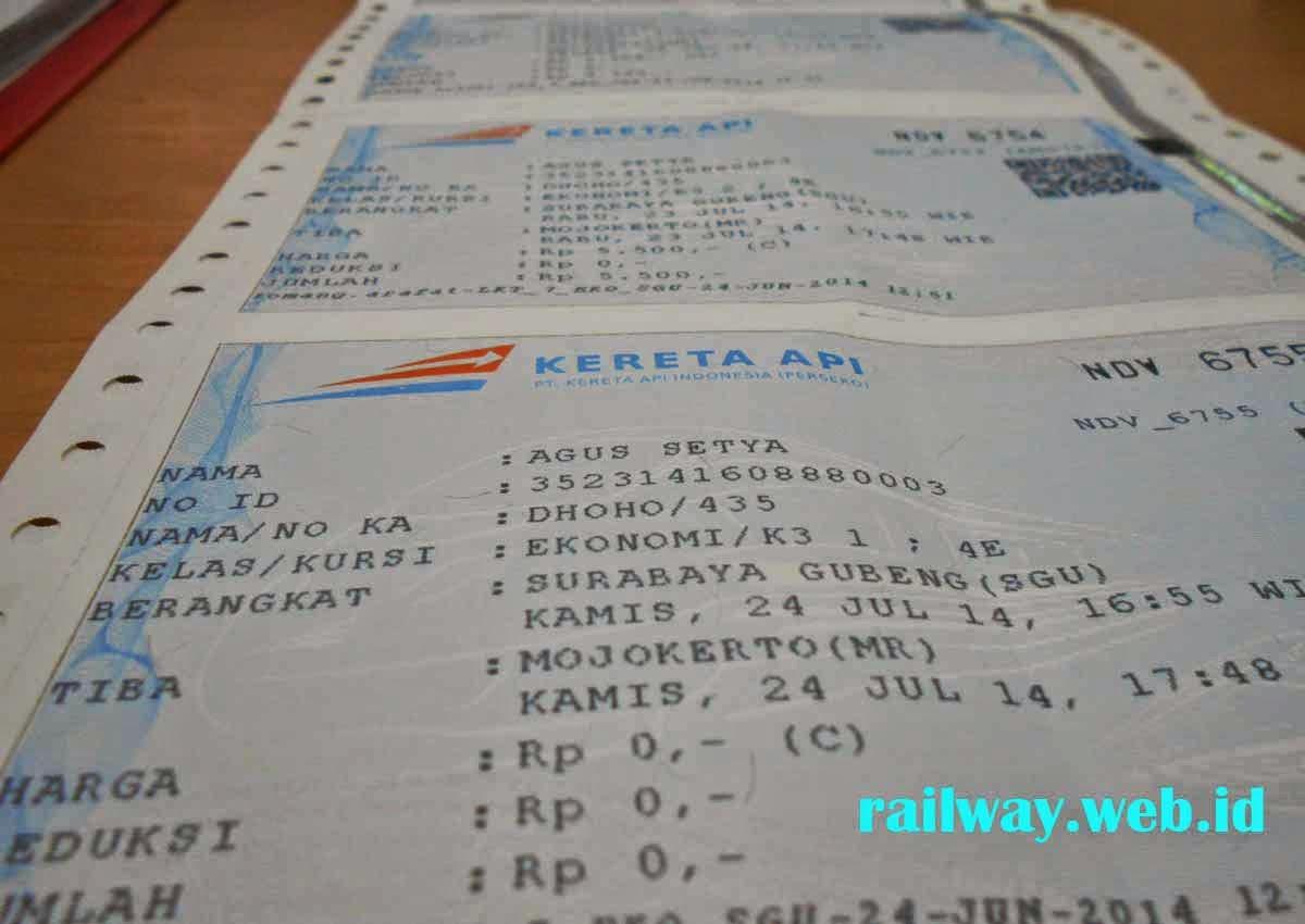 jadwal mudik gratis kereta api 2014