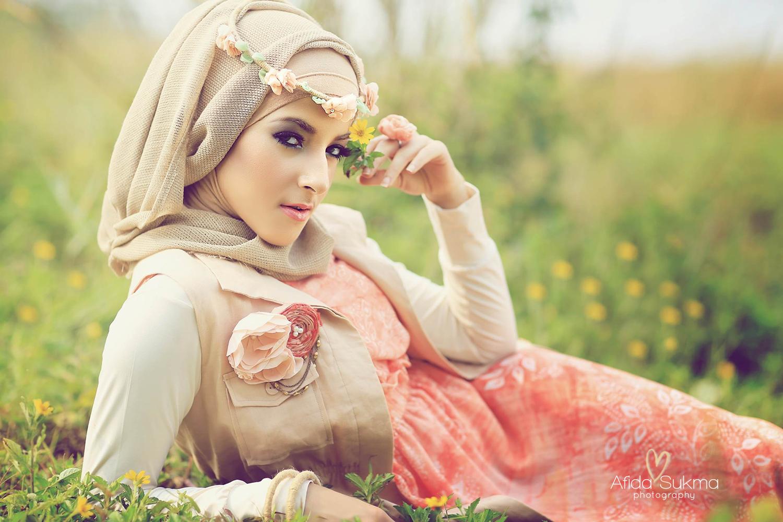 6 Siasat Penampilan Pada Hijabers Bertubuh Gemuk Agar Tidak Terlihat Gemuk