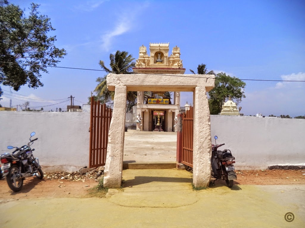 Theneeswarar Temple Entrance, Vellalore, Coimbatore