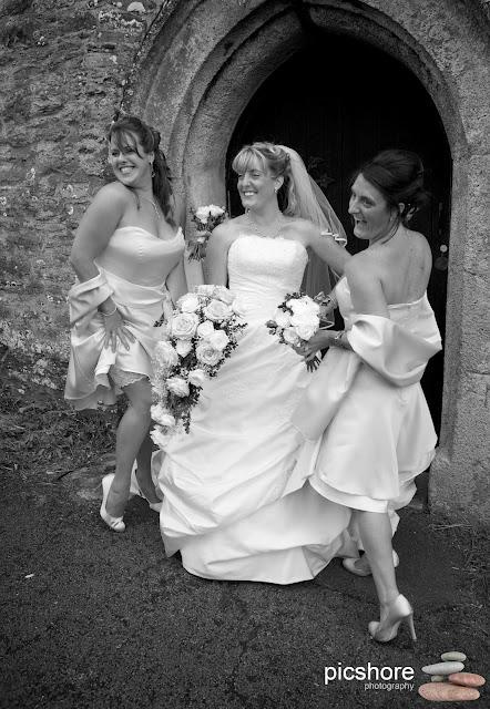 Brixton church devon wedding Picshore Photography