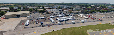 """""""Roma Drone Expo&Show 2015"""" ripreso da un drone"""
