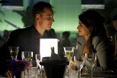 Michael Fassbender and Penelope Cruz in The Counselor