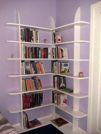 corner bookcase design ideas