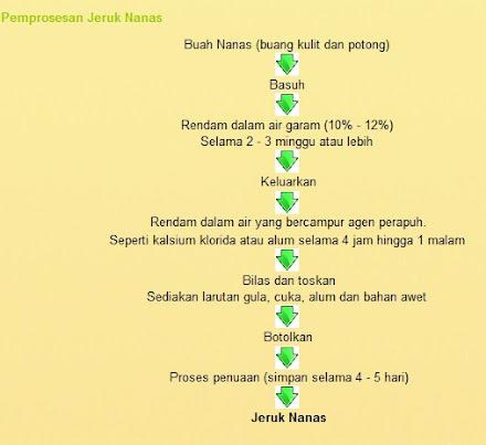Proses Jeruk Nanas