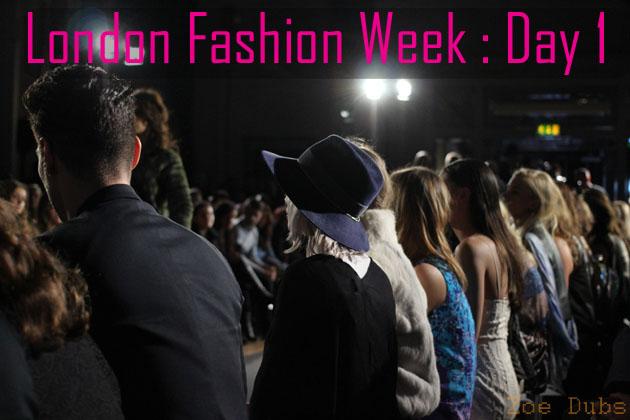 London Fashion Week Report  LFW AW15 Day 1