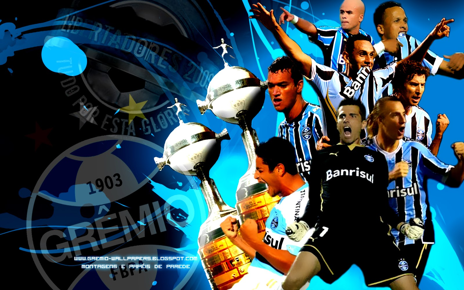 Papel de Parede do Grêmio wallpaper wallpapers screensave