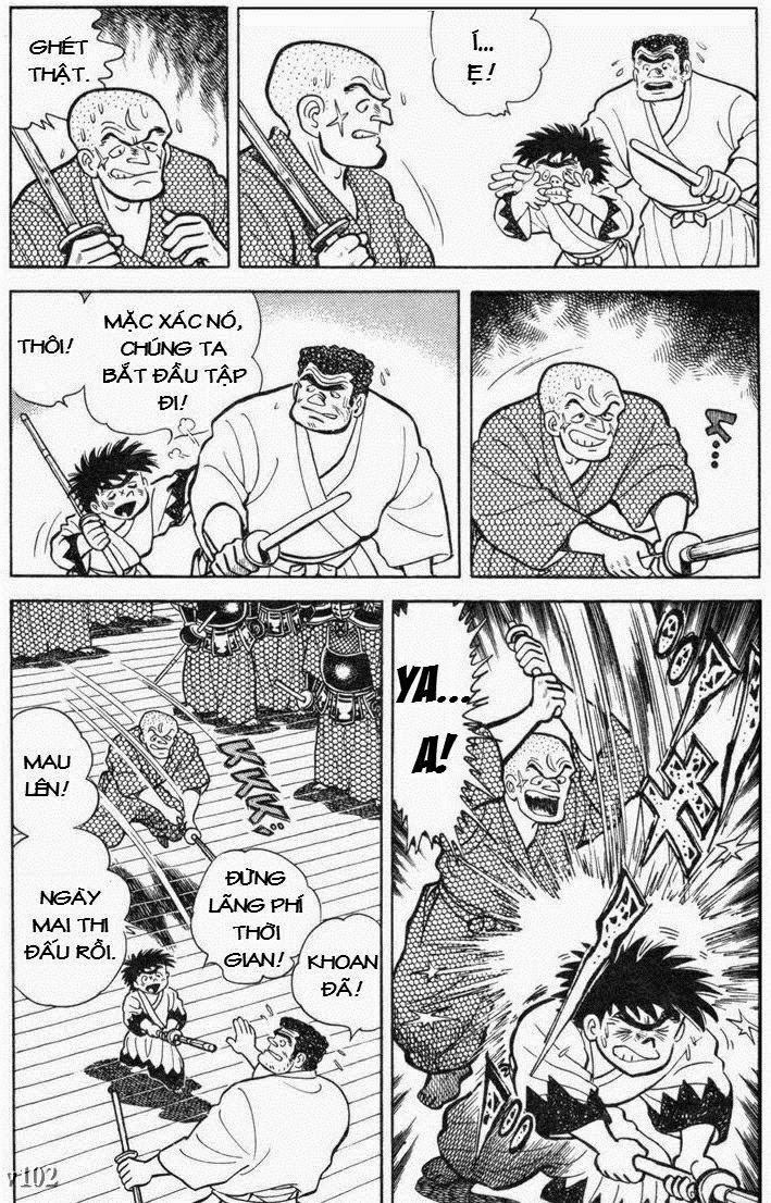 Siêu quậy Teppi chap 105 - Trang 21