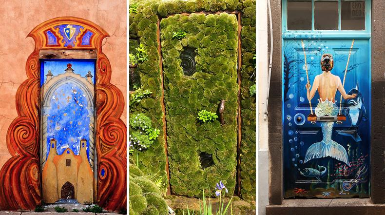30 hermosas puertas que parecen conducir a Otros Mundos