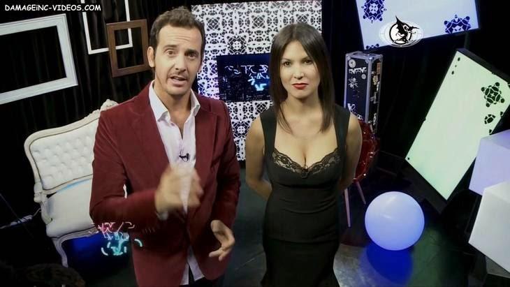 Ursula Vargues big natural tits tv hostess HD video