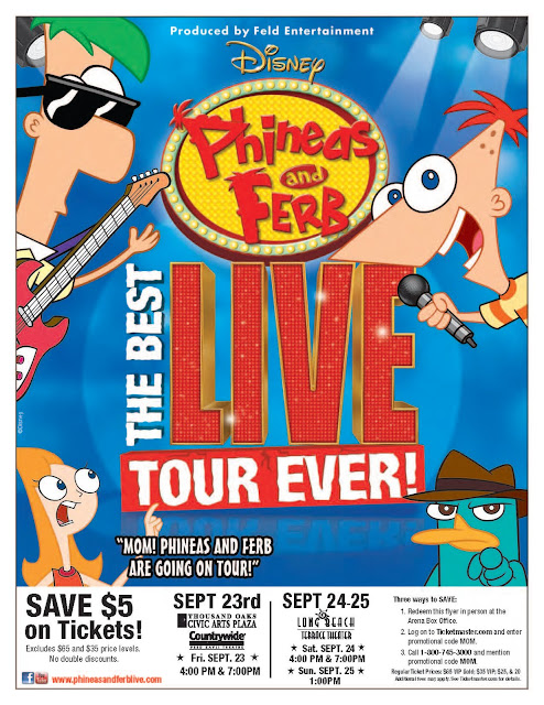Final_Mom+Blog+Flyer_DL7 Disney Live! Phineas and Ferb Discount Tickets