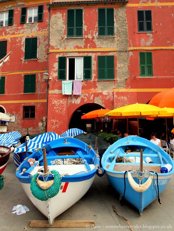 Fishing boats - Vernazza, Italy