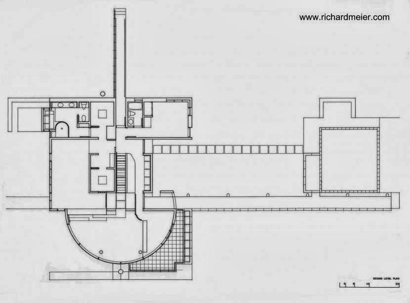 Plano de planta alta de Grotta House