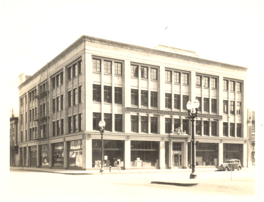 Old photos of architecture mitchell building ca 1920 in for Architecture 1920